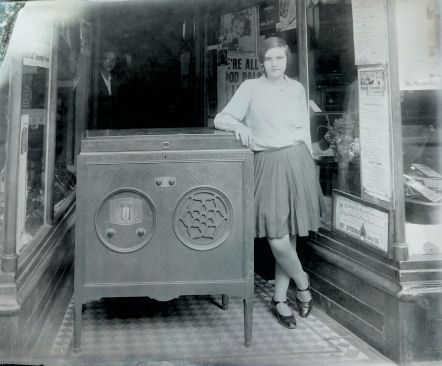 Girl and Radio
