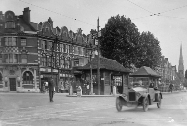 Stamford Hill and Tram