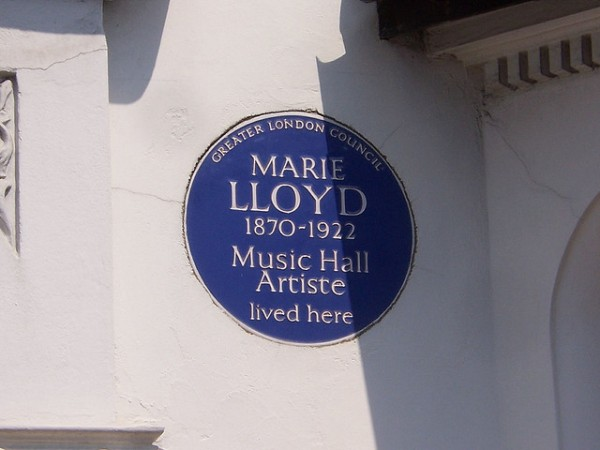 Marie Lloyd Plaque