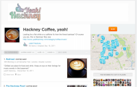 Hackney Coffee, Yeah! The foursquare list