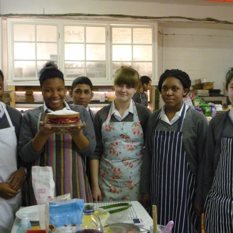 What's Cooking? A social enterprise for young people