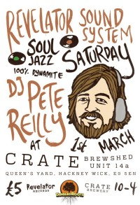 DJ Pete Reilly / Soul Jazz Records and Revelator Sound System