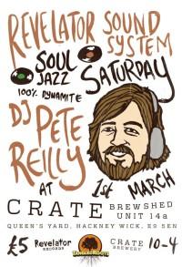 DJ Pete Reilly / Soul Jazz Records and Revelator Sound System