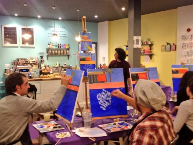 The latest craze, Social Painting is coming to Hackney