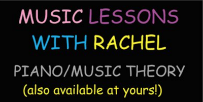 Piano/Music Theory Lessons with Rachel