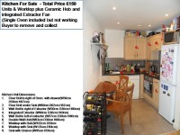 Kitchen Units and Worktop For Sale