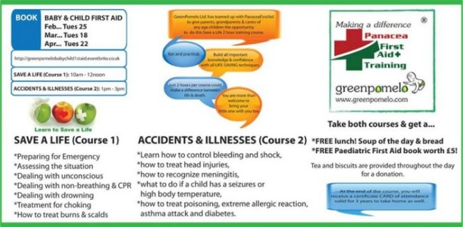 Baby & Child First Aid Course