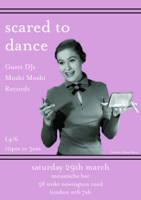 Scared To Dance Guest DJs Moshi Moshi Records