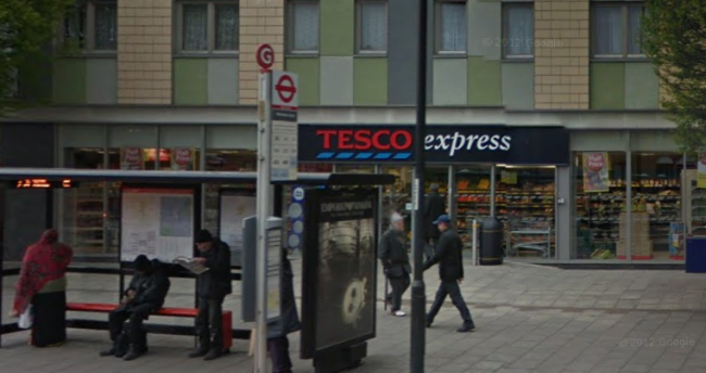 Tesco express Lower Clapton Road illuminated signs application