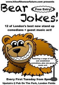 Bear Jokes Live Music and Comedy