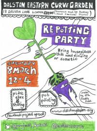 Plant re potting party