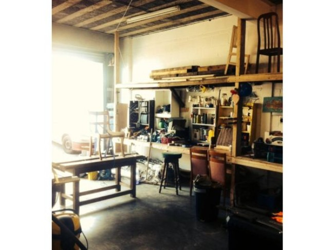 Bench space available to rent in shared workshop, ideal for a carpenter, metalworker, artist.