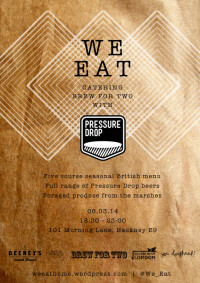 We Eat Pressure Drop Supper Club