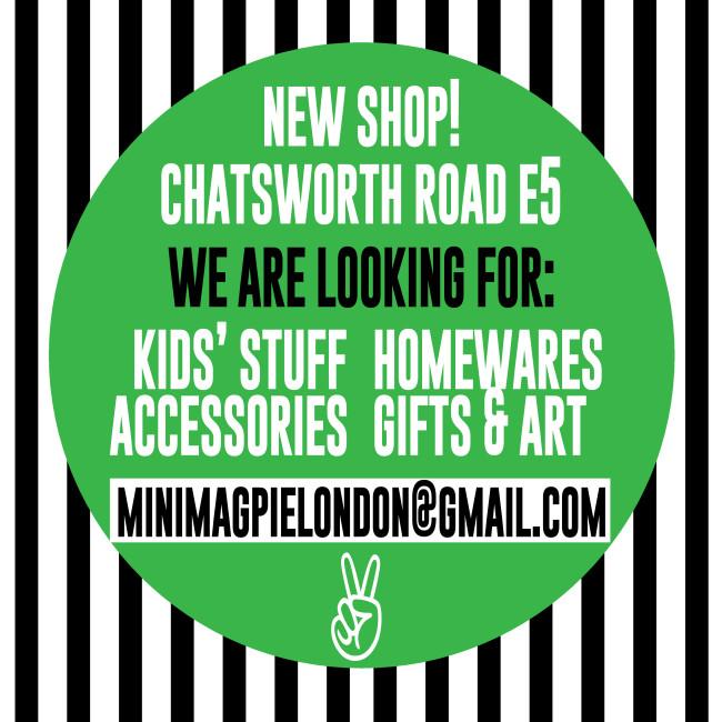 New Shop on Chatsworth Road!