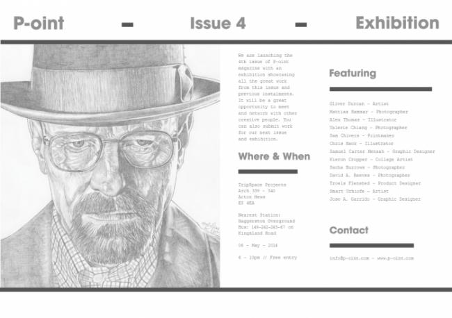 P-oint Magazine Issue 4 Exhibition