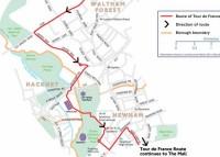 Tour de France in Hackney 7th July 2014