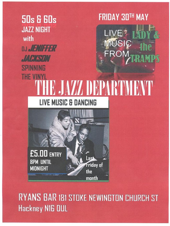 The Jazz Department   Friday 30th May 2014