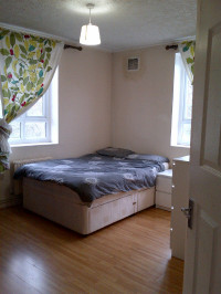 Double bed with mattress – free