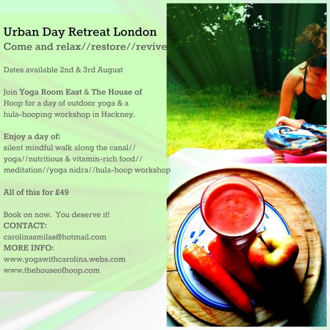 Urban Day Retreat
