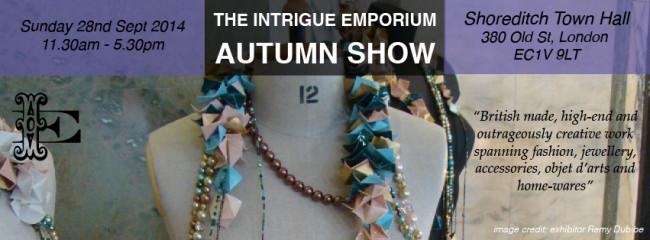The Intrigue Emporium Autumn Show