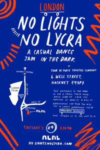 No Lights No Lycra – Dancing In The Dark!