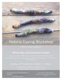 FREE Natural Dyeing Workshop