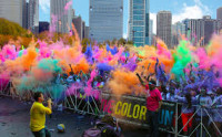 We've got tickets for the Color Run, 28th Sep