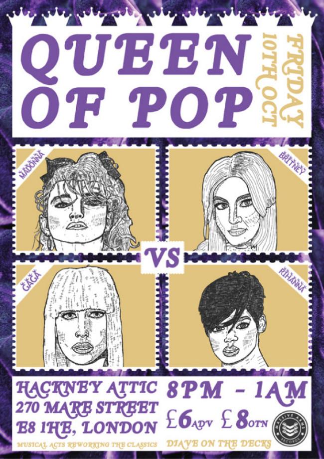 QUEEN OF POP! Madonna vs GaGa vs Britney vs Rihanna!